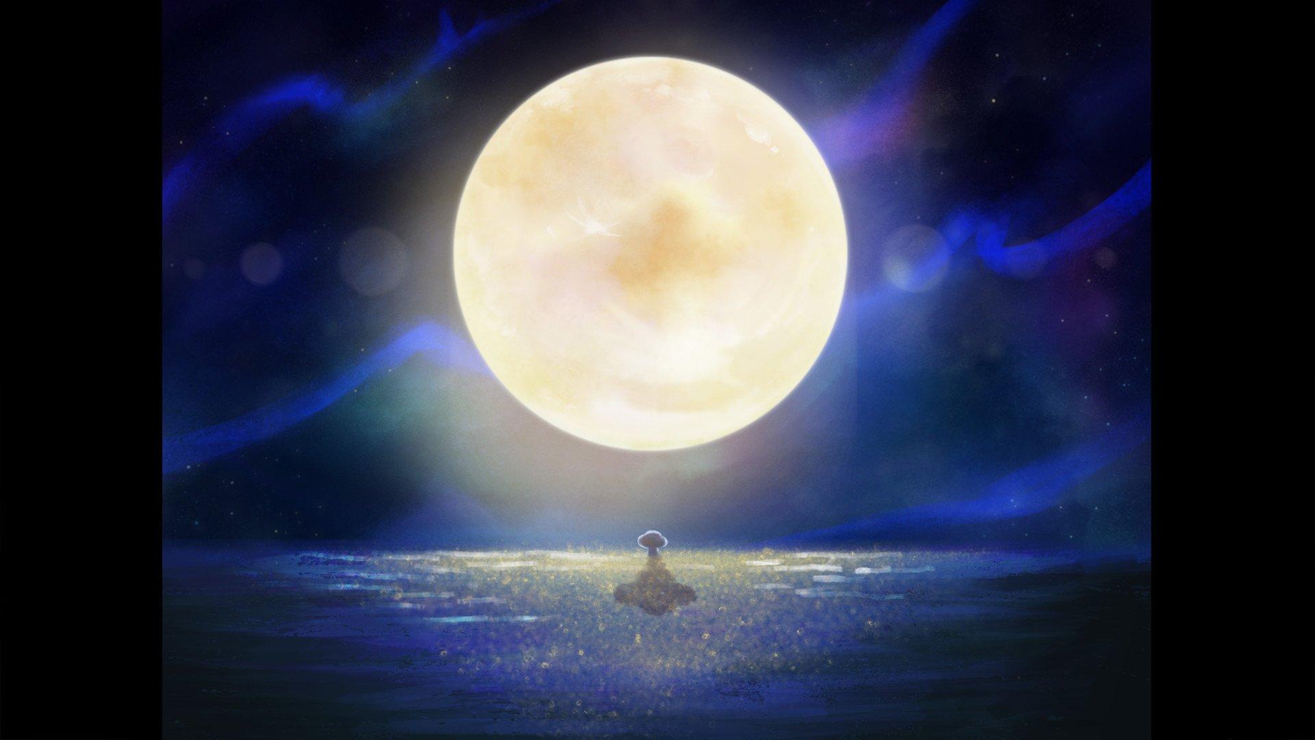 You Were Like The Moon by Eiris Lu