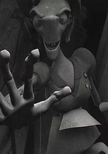 Film stillf from Ms Kong Yee Rou's animated short film, Need A Hand?